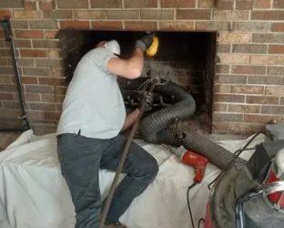 Как прочистить дымоход в квартире?