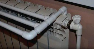 Сушилка на батарею из полипропиленовых труб