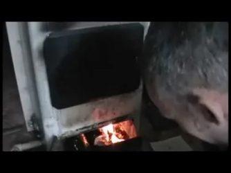 Сжигание отработки в обычной печке