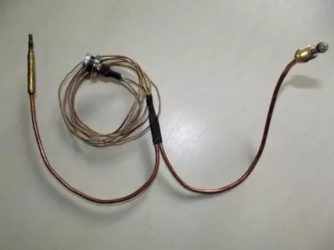 Как устроена термопара газового котла?