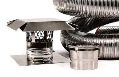 Гофрированная труба из нержавеющей стали для дымохода