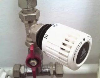 Терморегулятор для батарей отопления механический