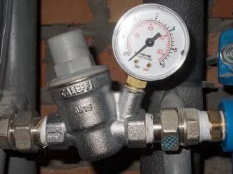 Как поменять регулятор давления воды в квартире?