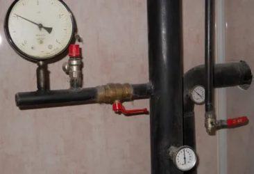Давление воды в отопительной системе частного дома