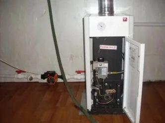 Как запустить старый газовый котел?