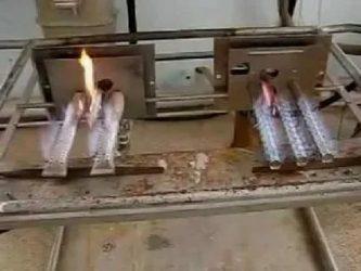 Как зажечь форсунку в печке?